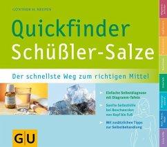 Quickfinder Schüßler-Salze (Mängelexemplar) - Heepen, Günther H.