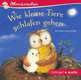 Wie kleine Tiere schlafen gehen und andere Geschichten, 1 Audio-CD