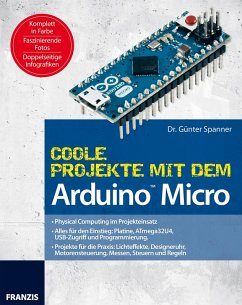 Coole Projekte mit dem Arduino(TM) Micro (eBook, ePUB) - Spanner, Günter