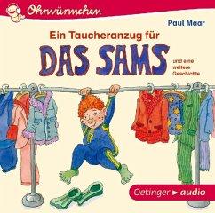 Ein Taucheranzug für das Sams / Das Sams Büchersterne Bd.1 (Audio-CD) - Maar, Paul