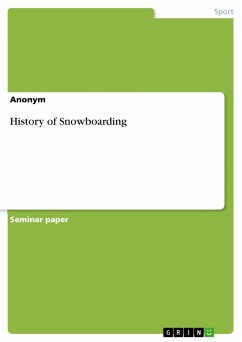 History of Snowboarding (eBook, PDF)