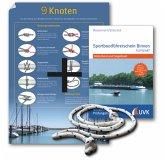Sportbootführerschein Binnen kompakt, Leinen los-Paket mit Knoten-Poster und Übungs-Seil