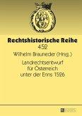 Landrechtsentwurf für Österreich unter der Enns 1526