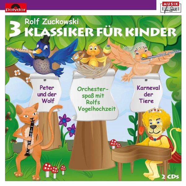 3 klassiker f r kinder 2 audio cds von rolf zuckowski h rb cher portofrei bei b. Black Bedroom Furniture Sets. Home Design Ideas