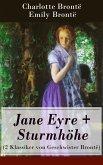 Jane Eyre + Sturmhöhe (2 Klassiker von Geschwister Brontë) (eBook, ePUB)