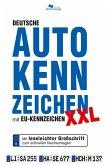 DEUTSCHE AUTOKENNZEICHEN XXL mit EU-Kennzeichen