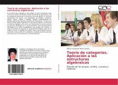 Teoría de categorías. Aplicación a las estructuras algebraicas