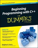 Beginning Programming with C++ For Dummies (eBook, PDF)
