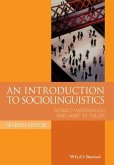 An Introduction to Sociolinguistics (eBook, ePUB)
