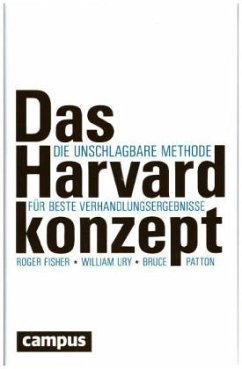 Das Harvard-Konzept - Fisher, Roger; Ury, William; Patton, Bruce