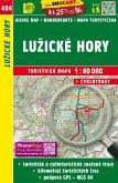 Wanderkarte Tschechien Luzicke hory 1 : 40 000