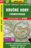 Wanderkarte Tschechien Krusne hory - Chomutovsko 1 : 40 000