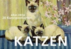 Postkartenbuch Katzen