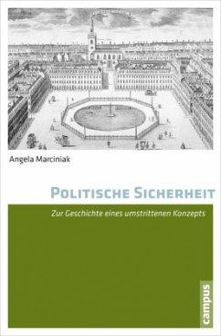 Politische Sicherheit - Marciniak, Angela