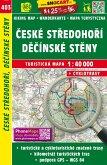 Wanderkarte Tschechien Ceske stredohori, Decisnke steny 1 : 40 000