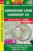 Wanderkarte Tschechien Zapadoceske lazne, Slavkovsky les 1 : 40 000