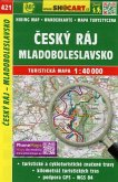 Wanderkarte Tschechien Cesky raj, Mladobleslavsko 1 : 40 000
