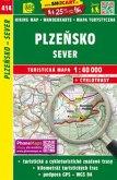 Wanderkarte Tschechien Plzensko - sever 1 : 40 000