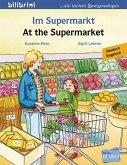 Im Supermarkt. Kinderbuch Deutsch-Englisch