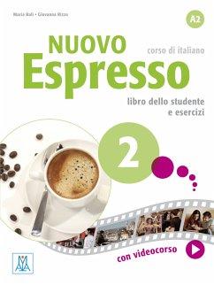Nuovo Espresso 02 - einsprachige Ausgabe Schweiz. Buch mit DVD-ROM - Balì, Maria; Rizzo, Giovanna