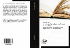 Le calcul algébrique en France et au Liban