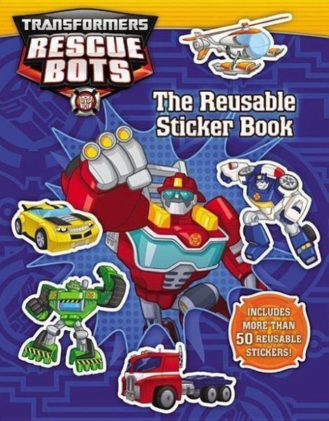 Transformers Rescue Bots Reusable Sticker Book