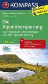 Kompass Wander-Tourenkarte Die Alpenüberquerung - Vom Tegernsee über Achensee und Zillertal nach Sterzing