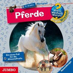 Pferde / Wieso? Weshalb? Warum? - Profiwissen Bd.4 (Audio-CD) - Schwendemann, Andrea; Mähler, Maria
