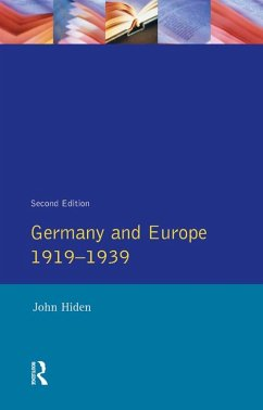 Germany and Europe 1919-1939 (eBook, PDF) - Hiden, John