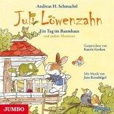 Ein Tag im Baumhaus und andere Abenteuer / Juli Löwenzahn Bd.3 (Audio-CD)