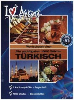 Die wichtigsten 1000 Wörter Türkisch, 2 Audio/mp3-CDs + Begleitheft