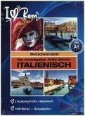 Die wichtigsten 1000 Wörter Italienisch, 2 Audio/mp3-CDs + Begleitheft