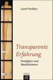 Transparente Erfahrung (eBook, ePUB)