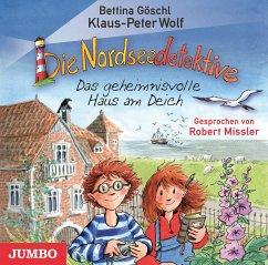 Das geheimnisvolle Haus am Deich / Die Nordseedetektive Bd.1 (Audio-CD) - Wolf, Klaus-Peter; Göschl, Bettina