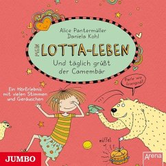 Und täglich grüßt der Camembär / Mein Lotta-Leben Bd.7 (Audio-CD) - Pantermüller, Alice