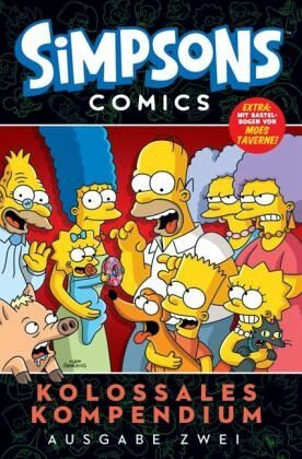 Buch-Reihe Simpsons Comics von Matt Groening
