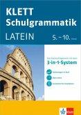 Klett Schulgrammatik. Latein 5.-10. Klasse mit Online-Übungen und mobile Lernkarten