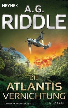 Buch-Reihe Atlantis von A. G. Riddle