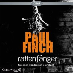 Rattenfänger / Detective Heckenburg Bd.2 (2 mp3-CDs) - Finch, Paul