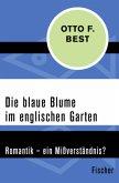 Die blaue Blume im englischen Garten