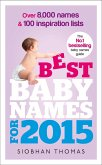 Best Baby Names for 2015 (eBook, ePUB)