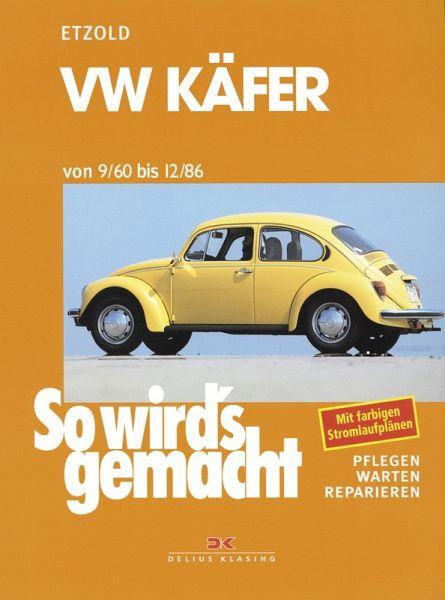 vw käfer 9/60 bis 12/86 (ebook, pdf) von rüdiger etzold - portofrei