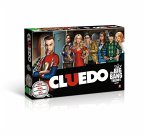 Winning Moves WIN10685 - Cluedo, The Big Bang Theory, Brettspiel, Familienspiel