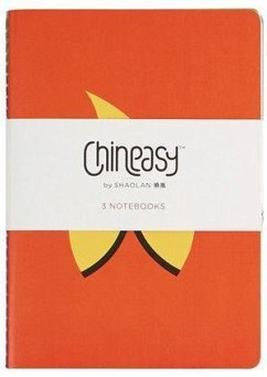 Chineasy (TM): Set of 3 A5 Notebooks - ShaoLan