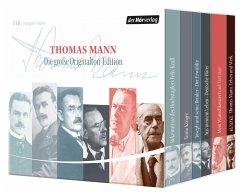 Thomas Mann - Die große Originalton-Edition, 17 Audio-CDs - Mann, Thomas