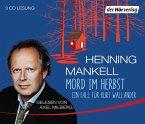 Mord im Herbst / Kurt Wallander Bd.11 (3 Audio-CDs)