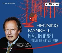 Mord im Herbst / Kurt Wallander Bd.11 (3 Audio-CDs) - Mankell, Henning