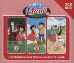 3er Box / Heidi Bd.1-3 (3 Audio-CDs)