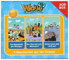 Wickie - 3-CD Hörspielbox, 3 Audio-CDs