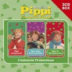 Pippi Langstrumpf - 3-CD Hörspielbox, 3 Audio-CDs